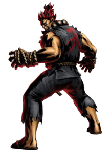 Street Fighter - Akuma as seen in Marvel vs Capcom 3