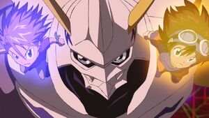 Yamato, Omnimon and Taichi