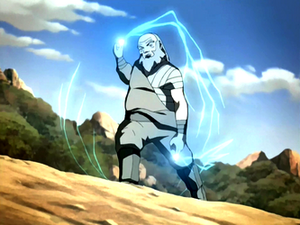 Iroh generates lightning