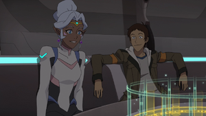 Lance and Allura (Game Time)