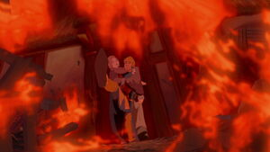 Phoebus saves the innocent Miller's family