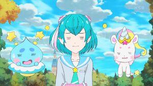 STPC41 Lala, Prunce and Fuwa watch Yuni lecture Hikaru
