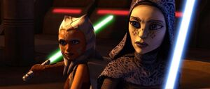 Barriss and Ahsoka