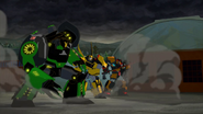 Bumblebee, Grimlock and Drift on Mission