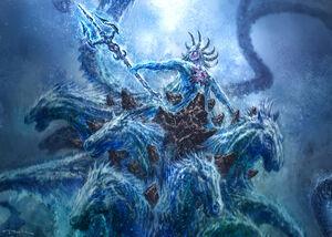 Poseidon Hippocampi Boss battle