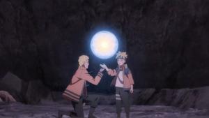Rasengan de Naruto y Boruto 2
