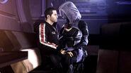 Tali and Shepard