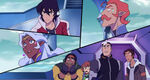 VLD - Keith, Allura, Hunk, Pidge, Shiro, Lance and Coran
