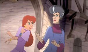 Anastasia Tremaine Standing up against her mother