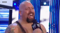 Big Show laughing