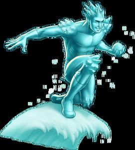 Iceman Portrait Art