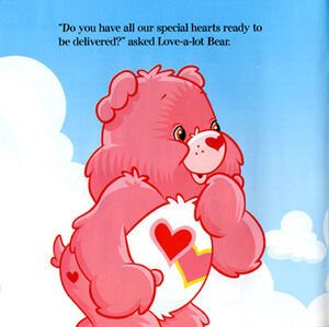 Love-a-Lot Bear story page
