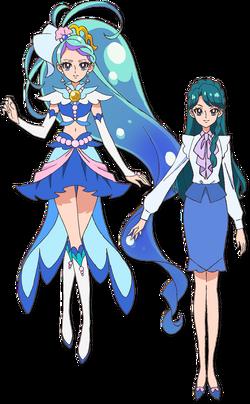 Minami mermaid perfil