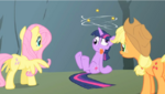 Twilight dizzy in S1E15