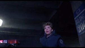 Anne Lewis discovered a damaged Robocop
