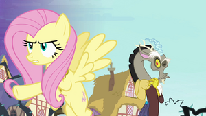 Fluttershy and Discord (S4E1)