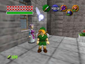Zelda,Ocarina of Time Link and Zelda