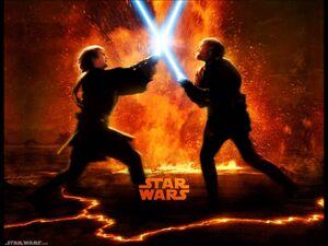 Anakin vs obi wan