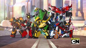 Bee Team (Season 2 Opening Scene)
