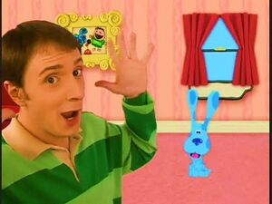 Blues Clues MAIL Steve