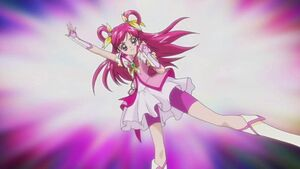 Cure Dream pose