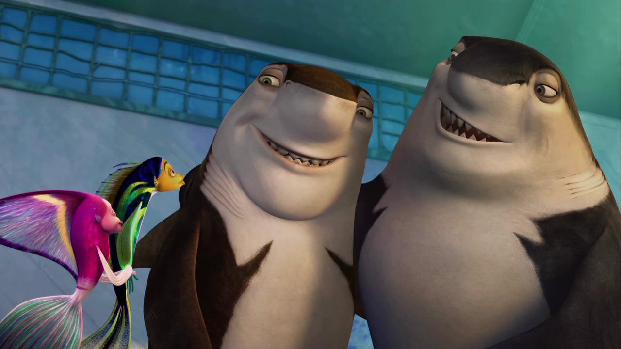 Shark Tale Lenny And Oscar