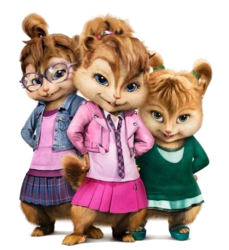 The Chipettes in the films