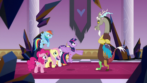 Twilight asking for Discord's help S9E2