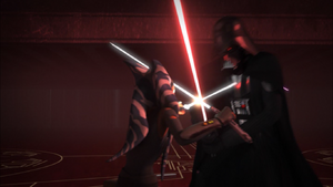 Vader tangled