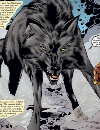 True Wolf Form