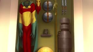 Mister Miracle costume SBA