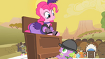 Pinkie Pie popping out of the piano S1E21