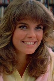 Alexandra Paul as Leigh Cabot in Christine