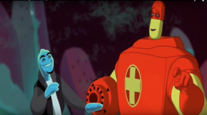 Ozzy and Drix scatting