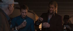 SteveRogers-Thor-Party-Drink