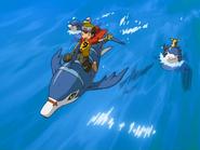Takuya Ride with Dolphmon
