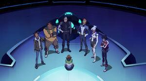 VLD - Lance, Hunk, Pidge, Shiro, Coran, Allura and Keith