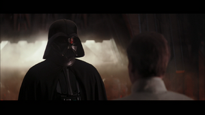 Vader greets