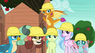 Young Six watch AJ and Rainbow continue to argue S8E9
