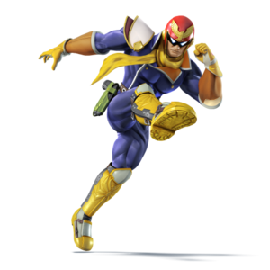 Captain Falcon SSB4 character portrait