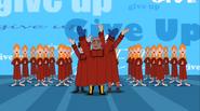 Give up choir
