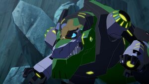 Grimlock is angry