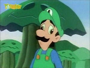 Luigi cartoon 2