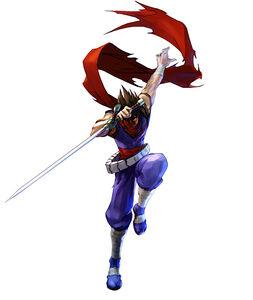 Namco X Capcom - Strider Hiryu