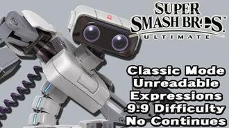 Super Smash Bros. Ultimate (Classic Mode 9.9 Intensity No Continues R.O.B.)