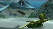 Troy threatening Nerissa