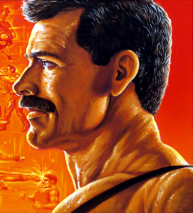Final Fight - Mike Haggar as he appears on the SNES Front Cover