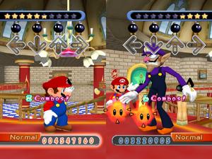 Mario Presenting Wally DDR