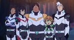 VLD - Lance, Keith, Hunk, Pidge and Shiro