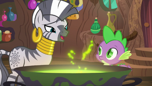 Zecora it ties the room together S5E22